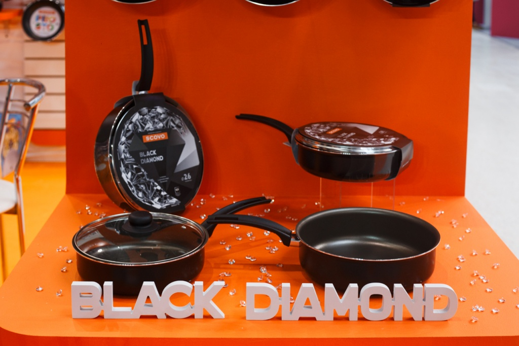 Scovo Black Diamond at the exhibition HouseHold Expo-2017